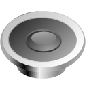 sound, speaker, voice, kmixdocked Gray icon