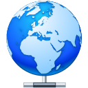 earth, network, Local, globe, Connect, world, planet DodgerBlue icon