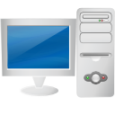 my computer, Computer, monitor, screen, Display Gainsboro icon