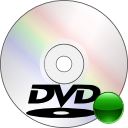 disc, mount, Dvd WhiteSmoke icon