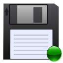 mount, save, Floppy DarkSlateGray icon