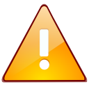 Error, wrong, warning, Alert, exclamation, message box Orange icon