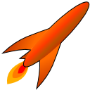Launch OrangeRed icon