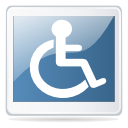 Accessibility, Dir, Directory SteelBlue icon