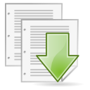 document, paper, save, File, As, save as WhiteSmoke icon