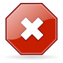 no, Close, stop, gtk, cancel Firebrick icon