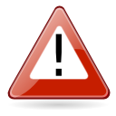 exclamation, warning, wrong, Alert, Dialog, Error Firebrick icon