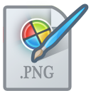 Picturetypepng LightGray icon