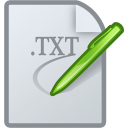 File, Text, document Gainsboro icon