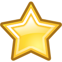 bookmark, Favourite, Favorite, star Black icon