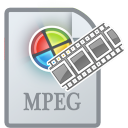Movietypempeg Gainsboro icon