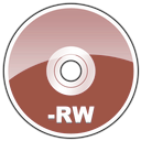 Rw, Dvd, Hd, disc DarkRed icon