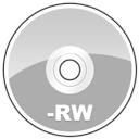 Cd, Disk, disc, Rw, save LightSlateGray icon