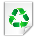 File, Application, recycle bin, Trash, document, paper, recycle WhiteSmoke icon