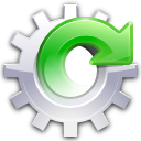 system, update, software LimeGreen icon