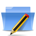 writing, Folder, pencil, Pen, paint, Draw, Txt, Edit, write CornflowerBlue icon