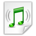 flac, Note, Audio WhiteSmoke icon