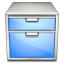 paper, document, Drawer, system, File, manager LightSkyBlue icon
