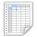 Spreadsheet, Application, Applix WhiteSmoke icon