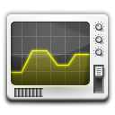 graph, monitor, system, screen, Display, chart, utility, Computer DimGray icon