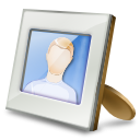 Setting, Desktop, frame, preference, people, Account, Personal, profile, image, picture, Human, configuration, Configure, pic, user, photo, config, option Gainsboro icon