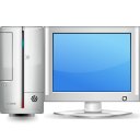Computer, monitor, personal computer, pc, Display, screen CornflowerBlue icon