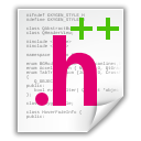 File, Hdr, Text, document WhiteSmoke icon