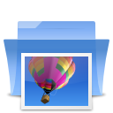 pic, image, photo, picture, Folder RoyalBlue icon