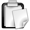 klipper, Clipboard WhiteSmoke icon