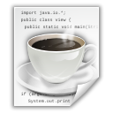 File, Text, Java, document Icon