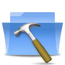 Develop, Development, Folder LightSkyBlue icon
