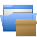 Folder, Tar CornflowerBlue icon