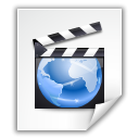 movie, Mm, uri, film, video WhiteSmoke icon