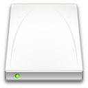 Removable, drive, media Snow icon