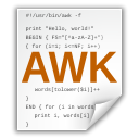 Application, Awk WhiteSmoke icon