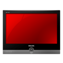 television, Tv DarkRed icon