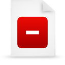 document, File, paper, red WhiteSmoke icon