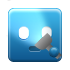 Flashlight LightSkyBlue icon