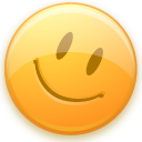 Emoticon, happy face, smiley, Emotion, Face Khaki icon