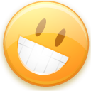 smile, Emoticon, Fun, funny, Emotion, Face, smiley, happy Khaki icon