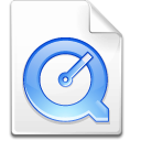 Apple, quicktime Snow icon