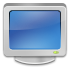 Computer, screen, Display, monitor, vedio SteelBlue icon