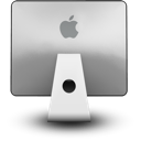 Computer, Imacback, Apple, screen, Display, monitor Gainsboro icon