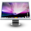 Display, Computer, monitor, mac, screen, Apple, cinema display, cinemadisplay Black icon
