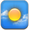 weather, climate CornflowerBlue icon