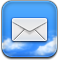 Email, Letter, Message, mail, envelop CornflowerBlue icon
