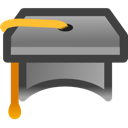 school, teach, webinar, learn, teaching, education, Graduate DarkSlateGray icon