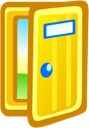 Door Gold icon
