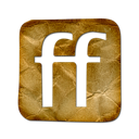 Friendfeed, Logo, square Black icon