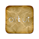 Orkut, Logo, square DarkKhaki icon